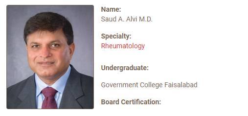 Saud A. Alvi M.D