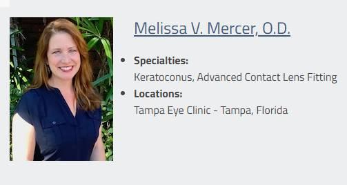 Tampa eye clinic Doctor