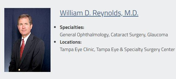 Tampa eye clinic Doctors