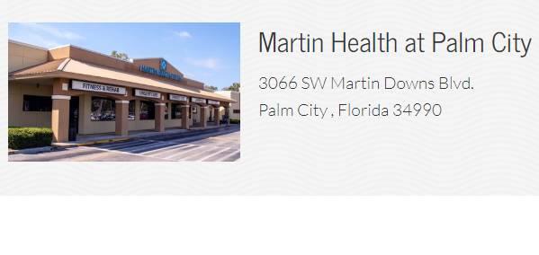 Martin Health at Palm City