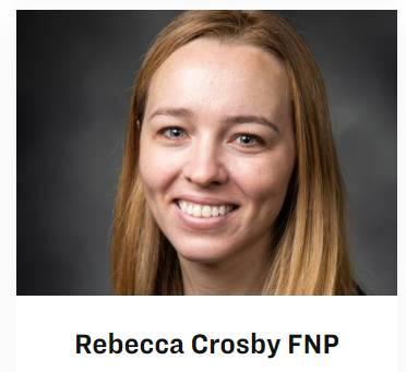 Rebecca Crosby FNP