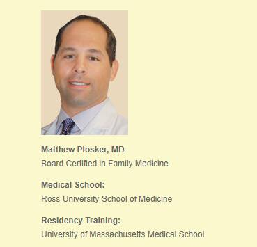 Matthew Plosker, MD