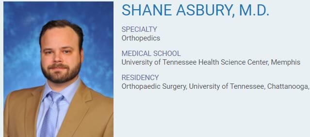 Shane Asbury, M.D.