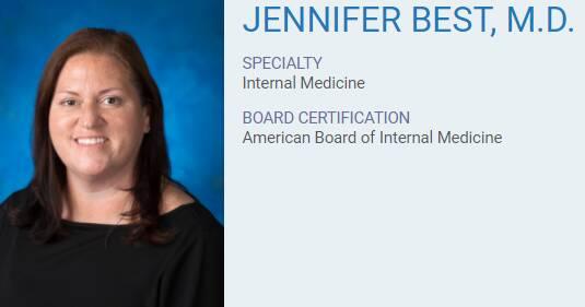 Jennifer Best, M.D.