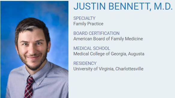 Justin Bennett, M.D.