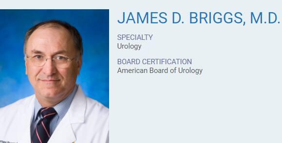 James D. Briggs, M.D.