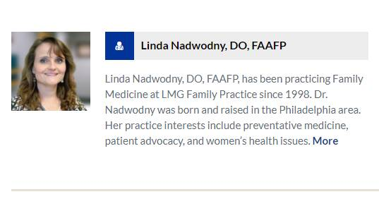 Linda Nadwodny, DO, FAAFP