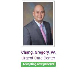 Chang, Gregory, PA