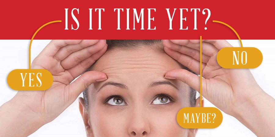 When Should I Start Botox or Dysport?