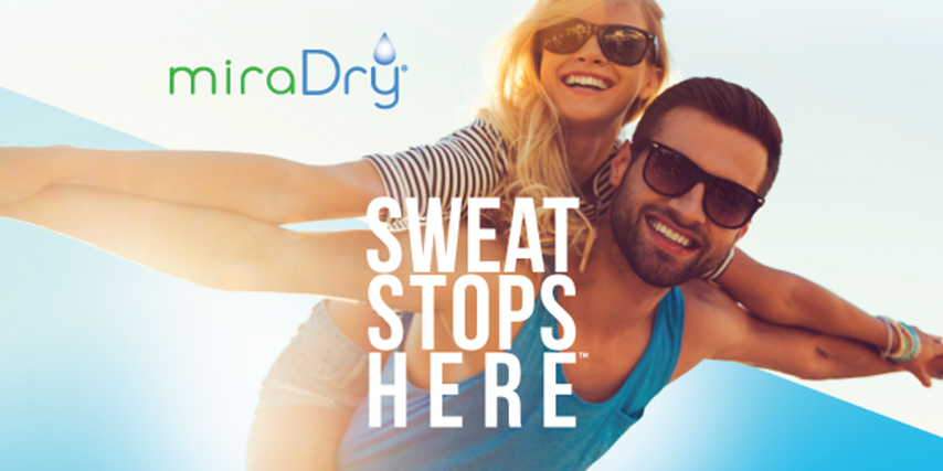 The Sweat Stops Here with miraDry / El sudor termina aqui con miraDry | Clinique Dallas Plastic Surgery