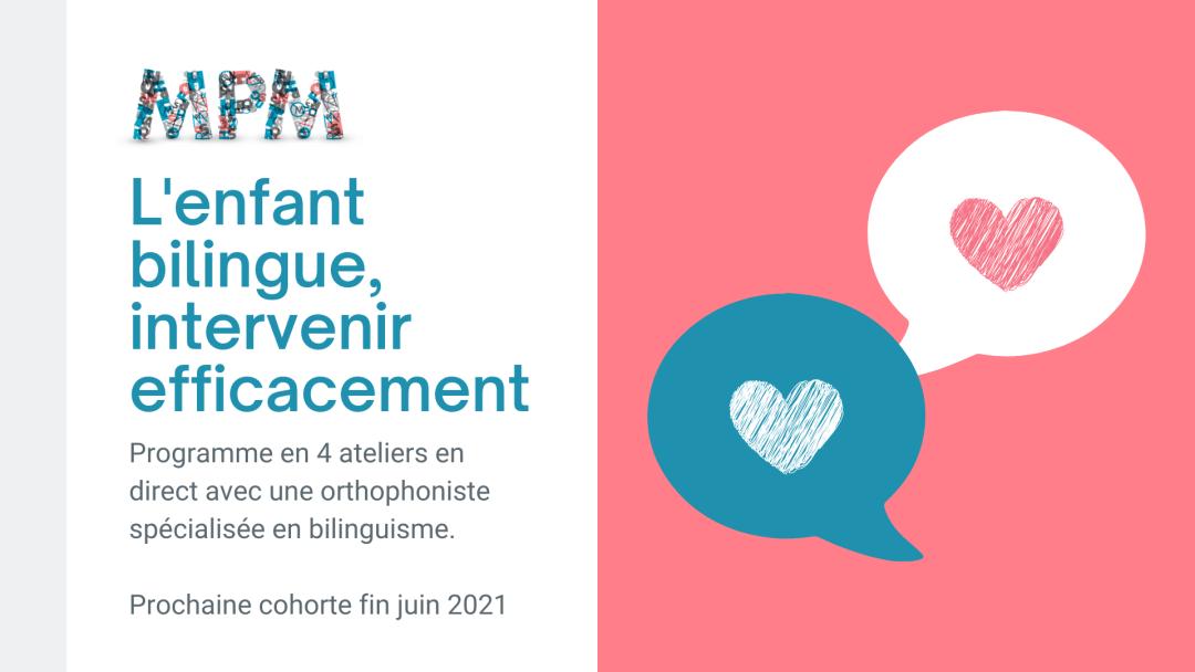 l'enfant bilingue, intervenir efficacement (1)