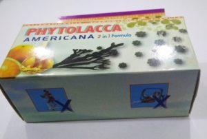 Phytolacca Americana for obesity