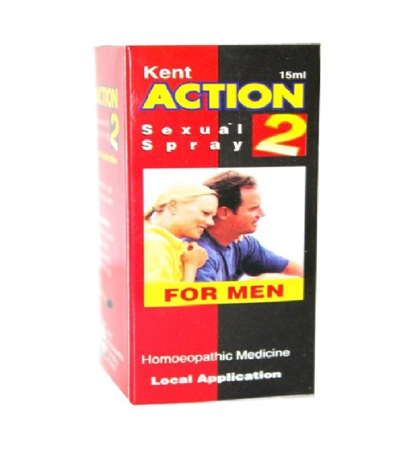 Action 2 Sexual Spray For Men