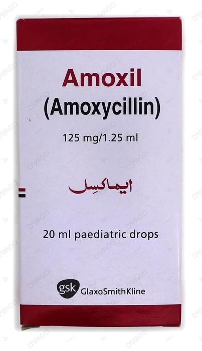Amoxil Drop 125mg 20ml