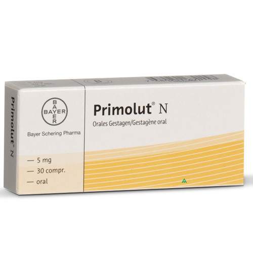 Primolut N Tablets 5mg