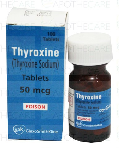 Thyroxine Tablets 50mcg