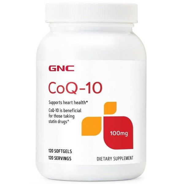 GNC CoQ-10 100 MG Dietary Supplement
