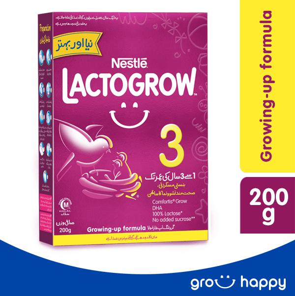 Nestle Lactogrow 3 Growing up Formula