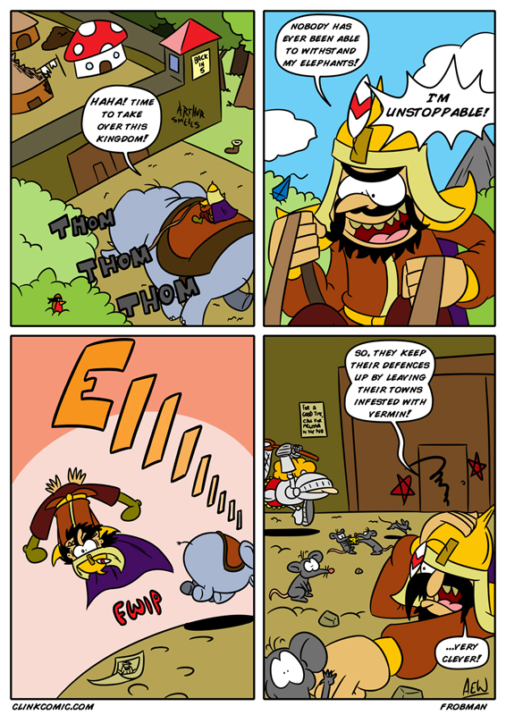 Guest Strip By Frobman!
