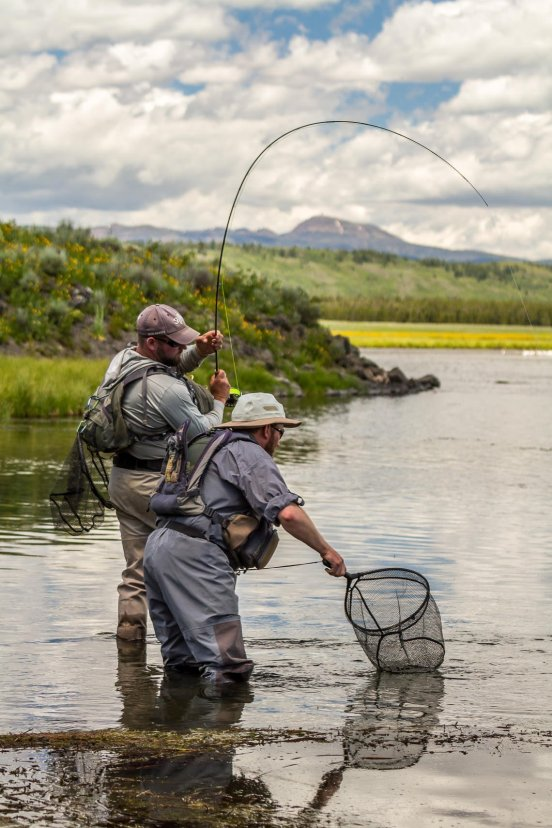 Ready Netter - Henry's Fork River - Fly Fishing Photography