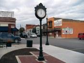 Plattsburg-MO-Rock Island Street Clocks