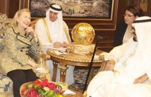 Assistant Secretary for Near Eastern Affairs Jeffrey Feltman, Ambassador to the Clinton meets with King Abdullah bin Abdulaziz Al Saud of Saudi Arabia on March 30, 2012. (Credit: US Embassy Riyadh)