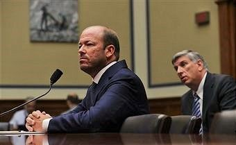 Justin Cooper testifies to the House Oversight and Government Affairs Committee. (Credit: Alex Wong / Getty Images)