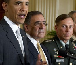 Obama announces that he will nominate current CIA Director Leon Panetta as Secretary of Defense, Gen. David Petraeus as the next director of the CIA on April 11, 2011. (Credit: CNN)