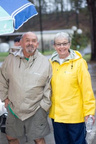 Claude & Karin Ruiz, Choctaw Food Bank