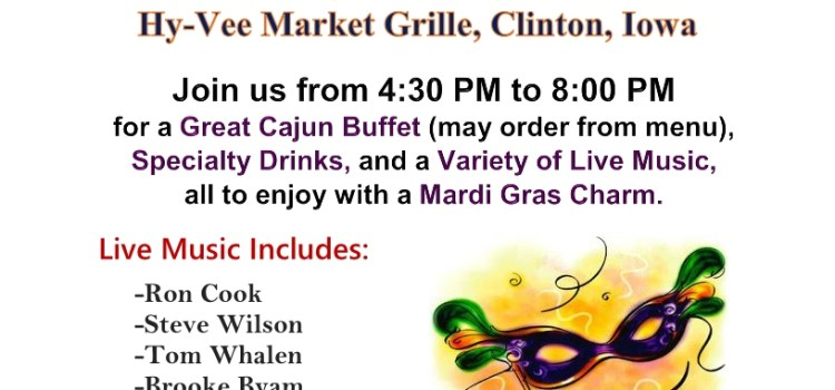 Join the Friends of the CSO for a Mardi Gras Event!
