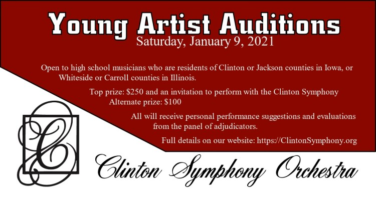 Young Artist Auditions Information