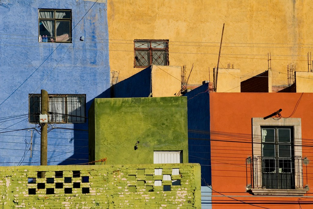 Colorful Homes in Mexico