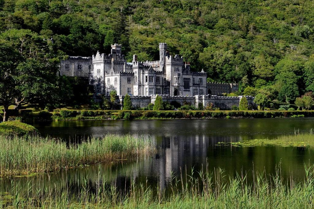 Kylemore Abbey in County Mayo Ireland