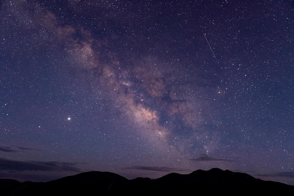 Details of Milky Way from deep within the Colorado wilderness