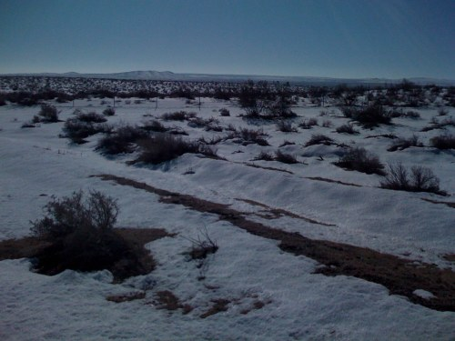 Mojave Covered in Snow