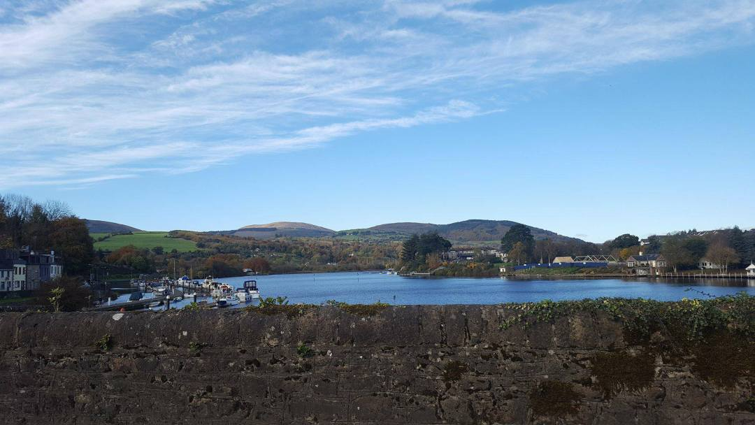 Bienvenue à Killaloe, petit village d'irlande