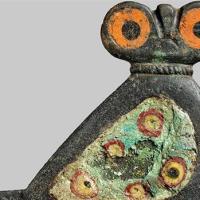 Roman Enameled Owl Brooch Found in Denmark