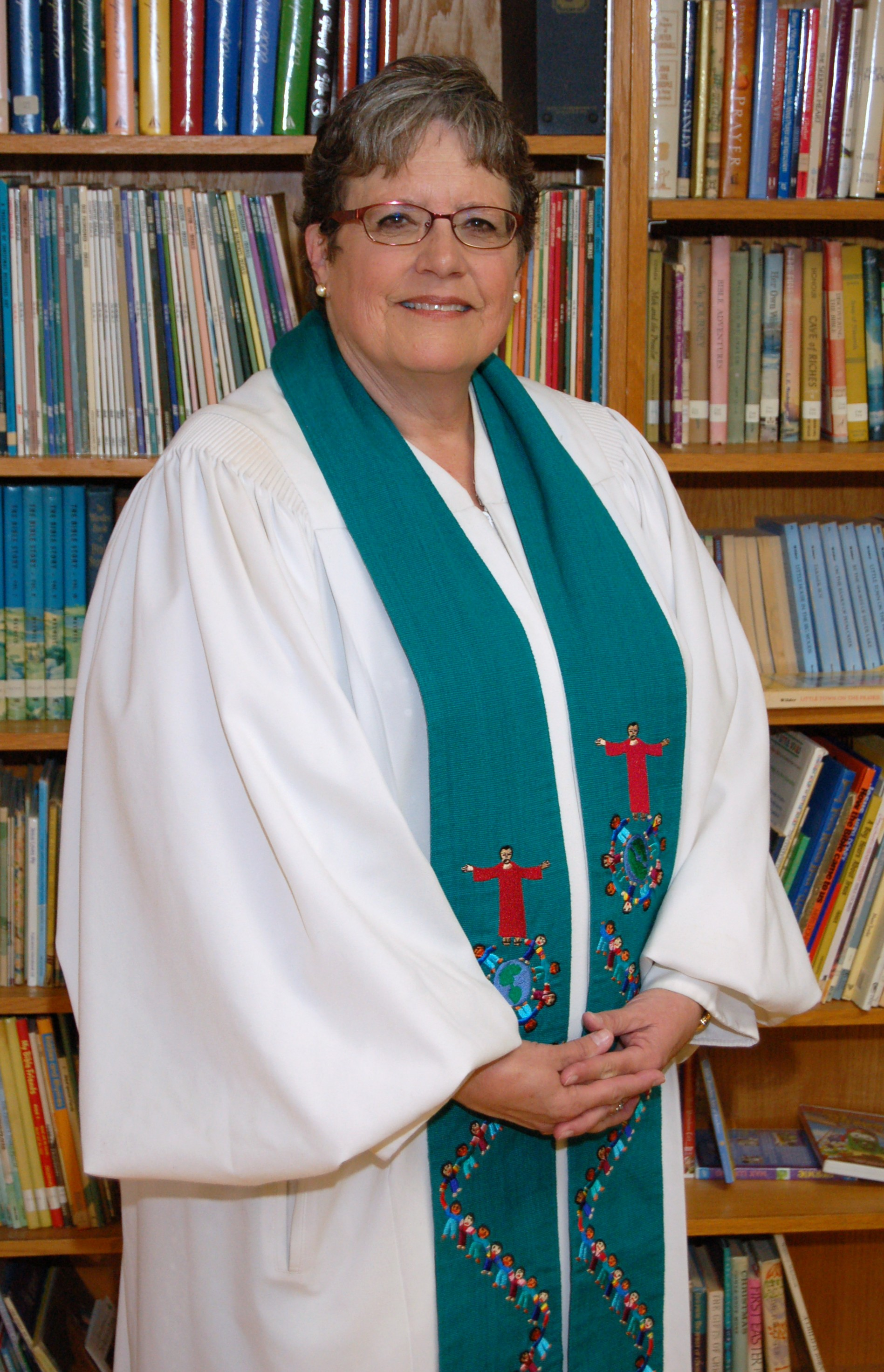 Pastor Cathi Huvaere