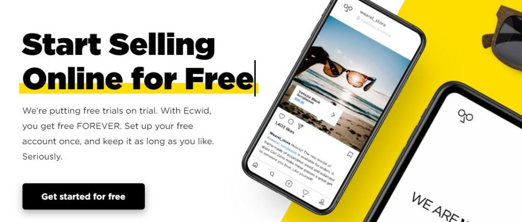 smart selling online with Ecwid