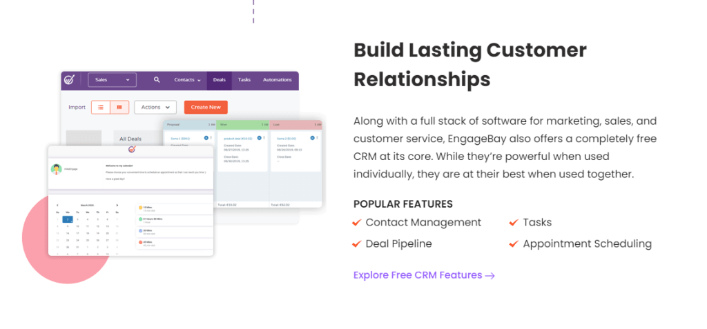 build customer relationship software