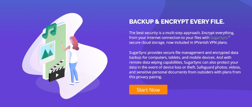 Get access to a military-grade secured online storage