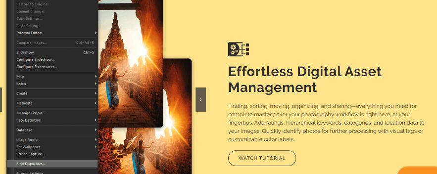 effortless digital asset management of ACDSee Photo Studio Ultimate