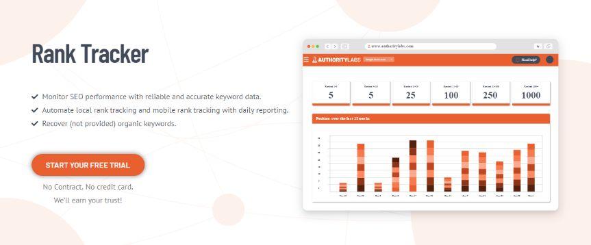 Rank Tracker for SEO Performance Monitoring