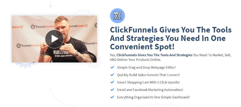 ClickFunnels give you the tools to build a successful business