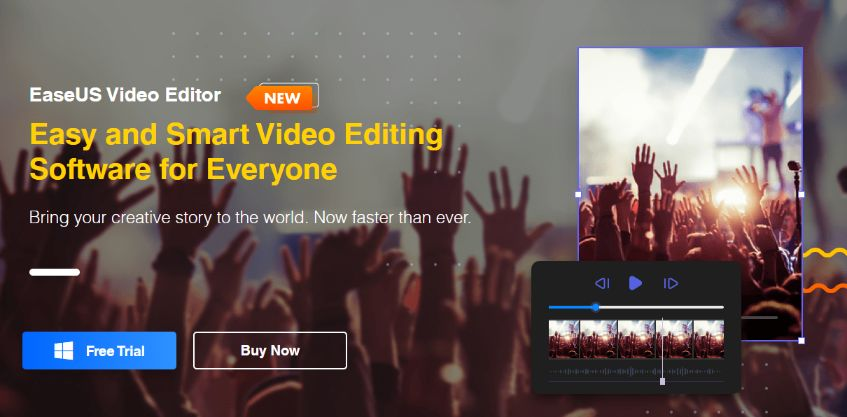Simple & Powerful Video Editor – Instant Free Trial