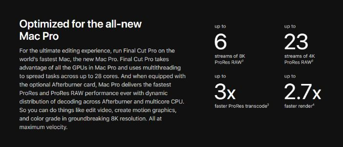 High End & Faster Video Editing Experience
