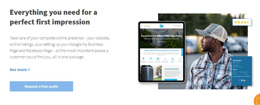 Get Powerful Online Presence – All in One package. Expert website developer will market it for you