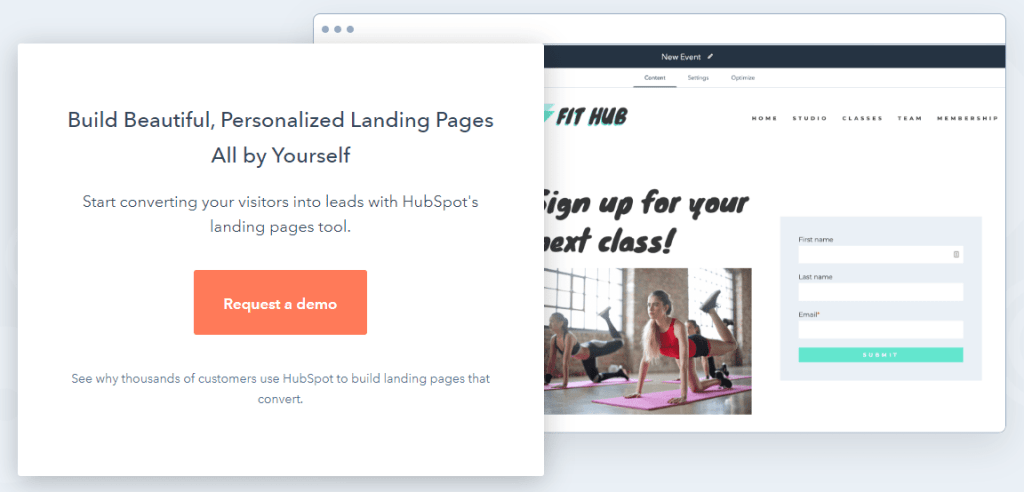 Powerful Landing Page Builder – with Free Demo