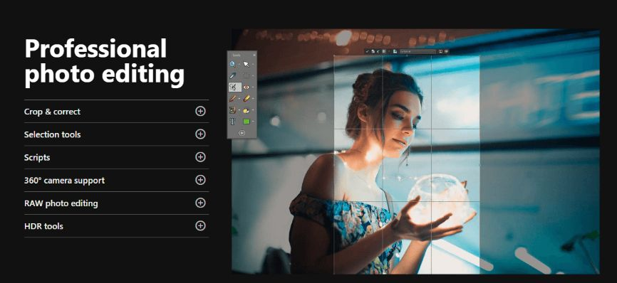 Whatever You Need for Professional Photo Editing