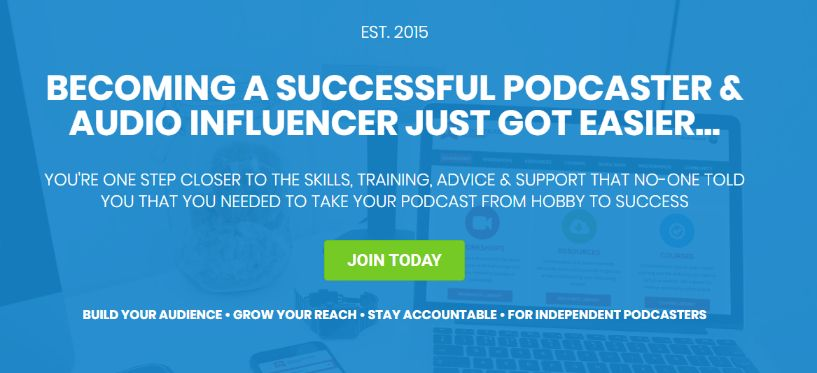 Learn from Legend – Become part of Podcast Academy